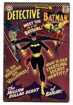 Detective #3591st appearance of BARBARA GORDON BATGIRL comic book vg - $698.40