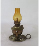 Mini Oil Lamp, Working Condition, Glass & Metal - $10.00