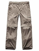 Kids Boy's Youth Outdoor Quick Dry Convertible Pants, Hiking Camping Fis... - $25.44