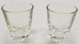 N) Set of 2 Anchor Hocking Heavy Base Shot Glasses 1.5-ounce Barware - $6.92