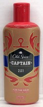 Old Spice Captain 2 in 1 Shampoo and Conditioner 12 oz - $6.98
