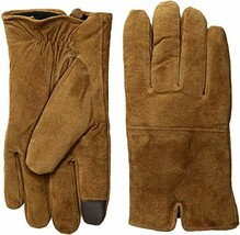 Levi's Tan Suede Gloves With Watch Vent Touchscreen Compatible NEW Large L - $23.76