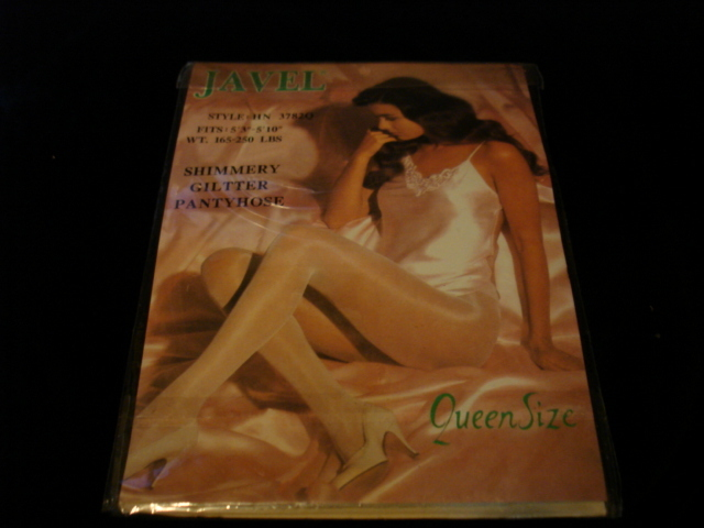 New-1pair-Queen size-Off White Fashion Shimmery Glitter Pant