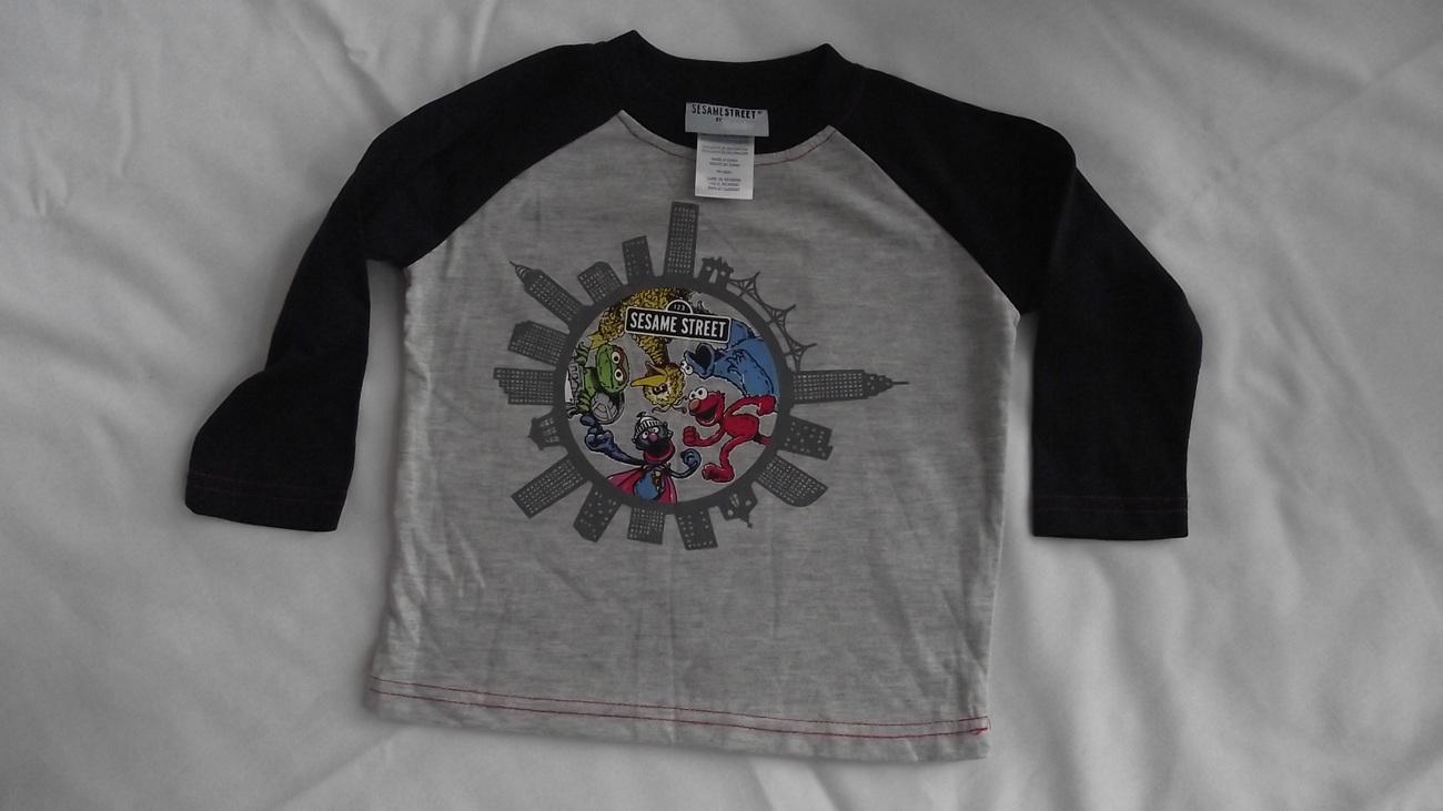 24 month Sesame street sweatshirt and t-shirt