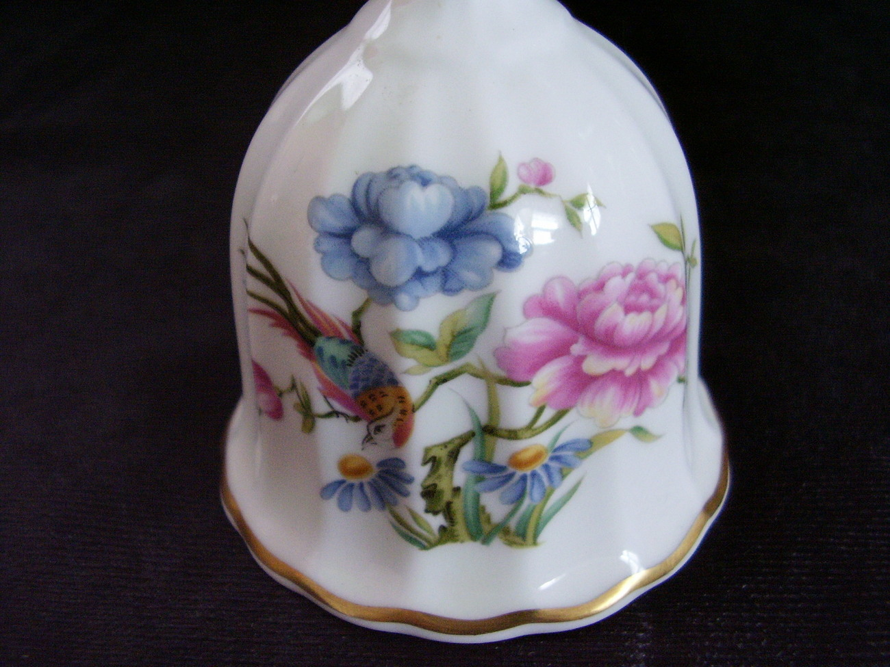 Spode English Bone China Bell Oriental Bird