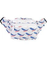 SoJourner Bags Fanny Pack - USA American Eagle Patriot Print - $36.32
