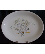 Vintage England Wedgwood Bone China Honeysuckle Oval Platter - $15.00