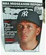 Sports Illustrated February 2009 Alex Rodriguez New York Yankees - $4.99