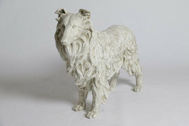Collie Dog LIFE-SIZE Statue Sculpture replica - $266.31