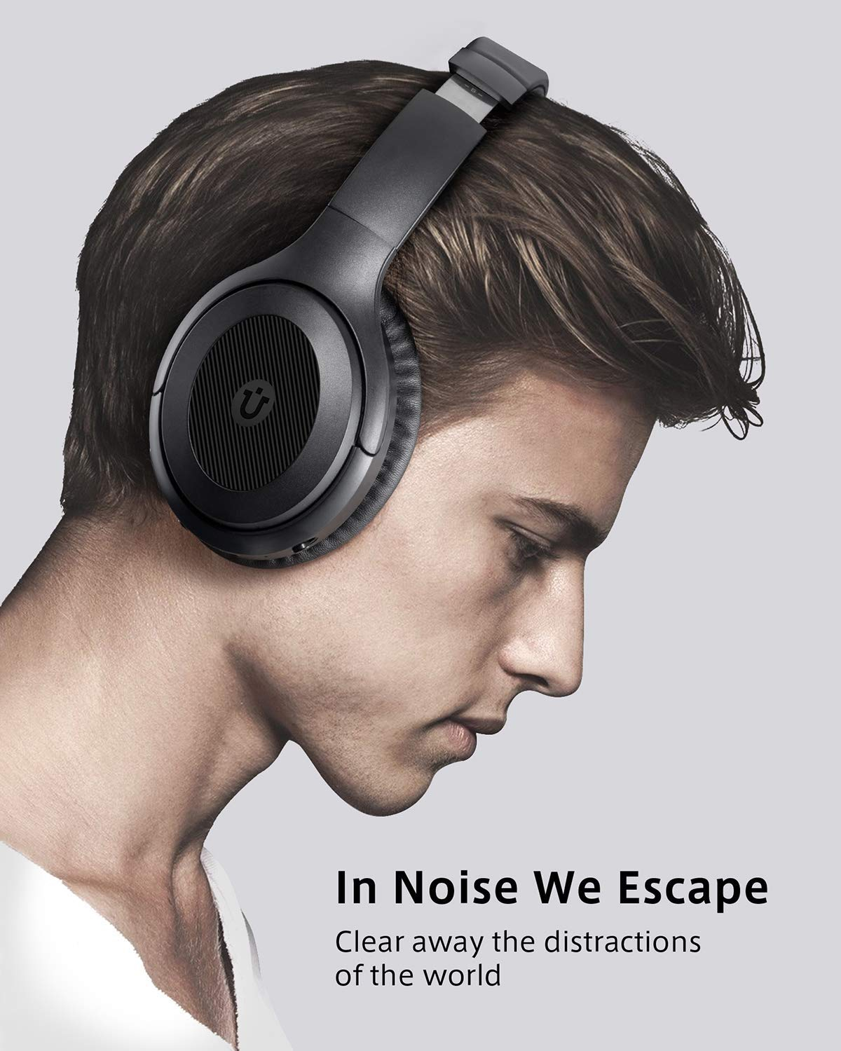 active noise cancelling headphones utaxo bluetooth headphones over ear with mic headsets. Black Bedroom Furniture Sets. Home Design Ideas