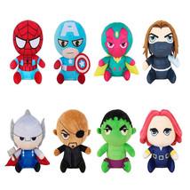 Marvel Avengers Plush Soft Plush Dolls Superhero Captain America Ironman... - $10.99