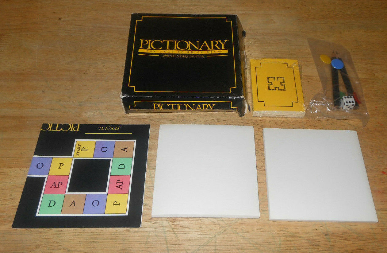 Primary image for Pictionary The Game Of Quick Draw Special Travel Edition