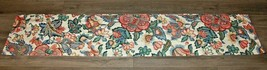 Waverly Home Fashions Floral Vintage Window Valance Bright Multi Colored - $21.37