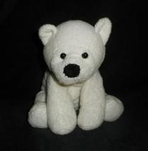 Ty Pluffies 2007 Baby Freezer White Polar Teddy Bear Stuffed Animal Plush Toy - $28.05