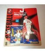 Fanatics Talking Major League Baseball Portrait Mark  McGwire New 2000 - $9.95
