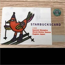 Starbucks Card Nagano Olympics Winter 2005 Old Logo Uncut PIN - $210.84