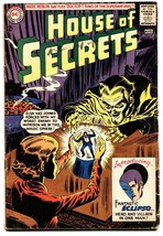 House Of Secrets #61 1963-1st Eclipso-Mark Merlin- Rare DC comic - $224.31