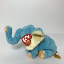 "Ty Jimbo Elephant The Beanie Babies Collection Plush Stuffed Animal 8"" Long New - $18.80"