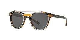 Authentic Coach Sunglasses HC8216 544087 Varsity Glitter Frames Gray Len... - $98.99