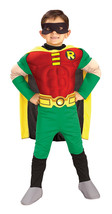 Super Hero , Robin DLX , Toddler | Boy's Costume , 2T - 4T  , Free Shipping - $40.00