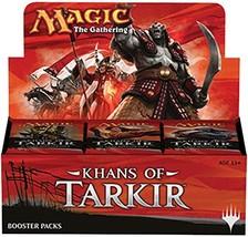 Khans of Tarkir - Magic the Gathering Sealed Booster Box MTG 36 Packs - $185.52