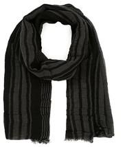 Diesel Unisex Sjoseph 00SI6W Fine Knitting Scarf Grey - $92.07