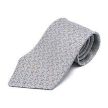 Hermes tie silk 100% water seagull Auth - $314.19