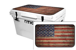 "RTIC Wrap ""Fits Old Mold"" 65qt Cooler 24mil Lid Kit Old Glory - $36.95"