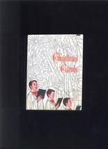 1965 CHRISTMAS Carols Carol Booklet Issued By John HANCOCK Insurance Bos... - $4.99