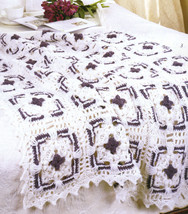 Crochet Afghans Patterns Blankets Book Afghan Quilt Choice Mile a minute... - $6.59