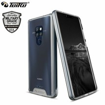 Chiron Shockproof Clear Cases Huawei Mate 20 Hybrid PC TPU Bumper Pro Ba... - $16.69