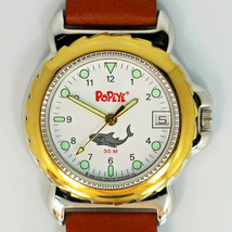 Popeye The Sailor Man, Date, Easy Read Dial, Fossil Rare, Never Worn Watch! $119 - $117.66