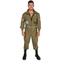 Fighter Pilot Jumpsuit Men's Adult Halloween Costume  - $47.02+