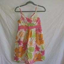 savannah girls size 7 floral sundress - $5.00