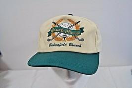 Granite Classic 1997 Bakersfield Branch Ivory/Green Baseball Cap Buckle ... - $14.95