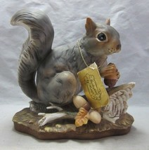Porcelain Squirrel figurine. Cincinnati. Glendale, OH - $22.99