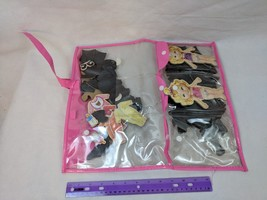 Magnetic Paper/Wood Toddler Dolls w/ Outfits, Accessories in Case - $4.99