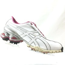 ASICS P068Y Women's Lady GEL-Ace Golf Shoes Size 9 US 39.5 EU White/Pink - $10.58