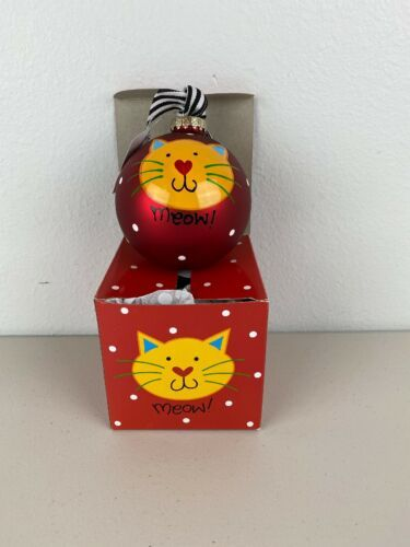 Primary image for Coton Colors Laura Johnson Cat Christmas Ornament Globe