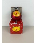 Coton Colors Laura Johnson Cat Christmas Ornament Globe - $98.99