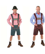 "Bavarian Lederhosen  Oktoberfest Costume ""Value""  in 28-44"" waist  - $24.22+"
