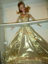 """1998 LIMITED EDITION """" BARBIE GOLDEN ANNIVERSARY DOLL"""" 50TH ANNIVERSARY - $39.59"""