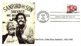 August 14, 1998 First Day of Issue, John Elroy Sanford & Son Salvage, Re... - $4.09
