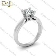 Cushion Cut 1.25ct DEF White Moissanite Engagement Ring Solitaire Weddin... - £138.69 GBP
