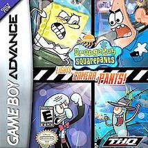 SpongeBob SquarePants: Lights, Camera, Pants (Nintendo Game Boy Advance,... - $3.79