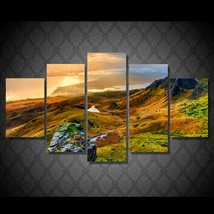 5 Pcs Isle Of Skye Scotland Home Decor Wall Picture Printed Canvas Painting - $45.99+