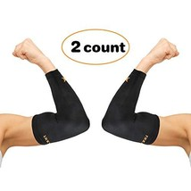 Thx4 Copper Elbow Compression Sleeve1 Pair - #1 Copper Infused Support –... - $19.40