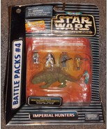 1996 Star Wars Micro Machines Battle Packs # 4 Imperial Hunters New In P... - $24.99