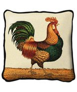 Rooster Throw Pillow - artist Charles Wysocki - $39.95