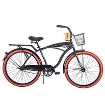 Mens Beach Cruiser Bike Bicycle Comfort Road 26 Inch Basket Perfect Fram... - €153,59 EUR
